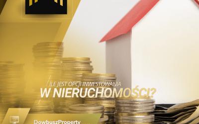 Ile jest opcji inwestowania w nieruchomości?